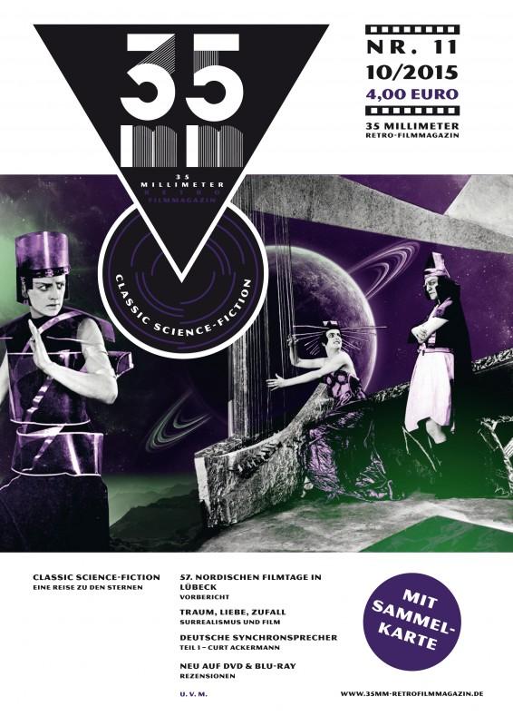 35 MILLIMETER Magazin - Cover Ausgabe 11 – DIN A4 2015-09-25