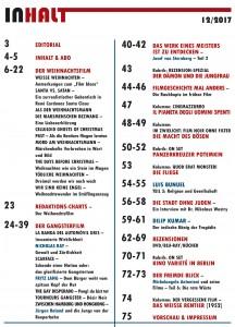 Seiten aus 35MM #23#24 Inhalt